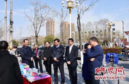 """永城市水利局举行第二十七届""""世界水日""""宣传活动 自媒体"""