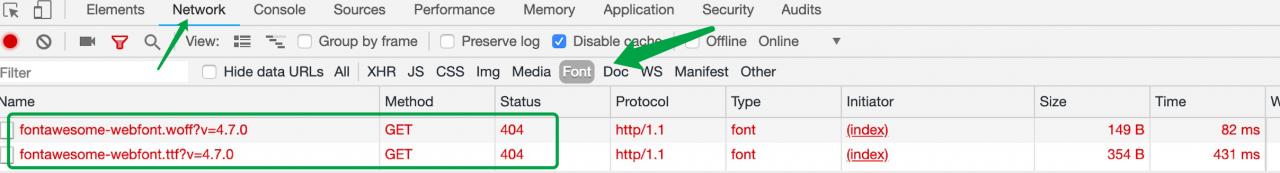 WordPress主题字体图标无法正常显示的原因及解决办法 网站开发