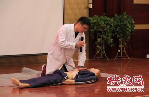 永城市妇幼保健院开展行政后勤人员心肺复苏培训会 自媒体