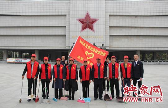 永城自然资源和规划局举行传承·2019清明祭英烈活动 自媒体