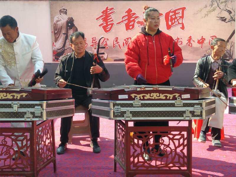 市级非遗启动授牌仪式在五马镇举行 自媒体