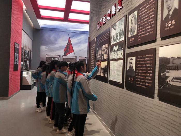 亳州特教学校师生重温红色历史缅怀革命先烈 自媒体