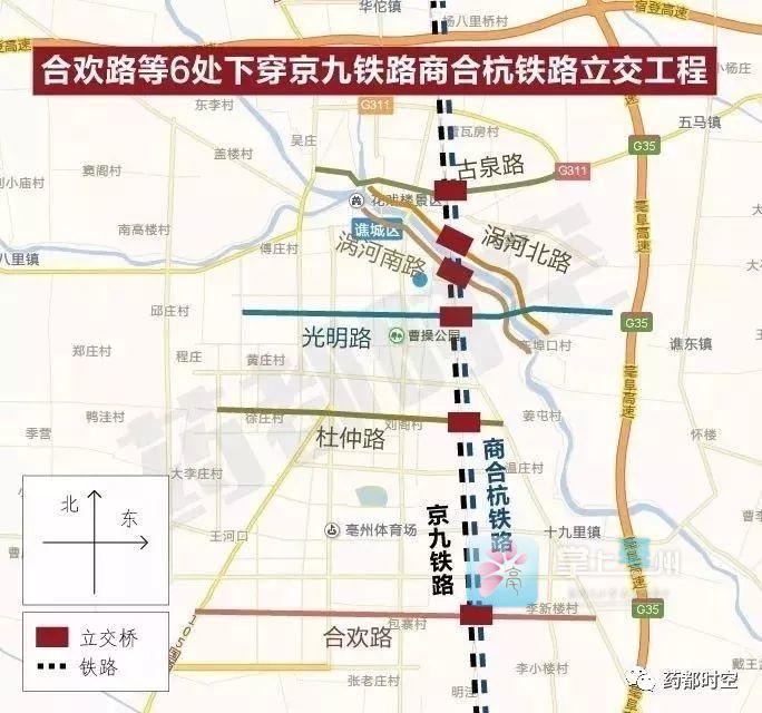 最新进展!来看看亳州市区6条下穿铁路立交工程建的咋样了? 自媒体