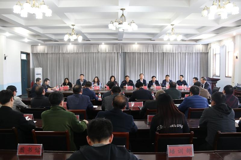 省委考核组对永城职业学院领导班子和省管干部进行2018年度考核 自媒体