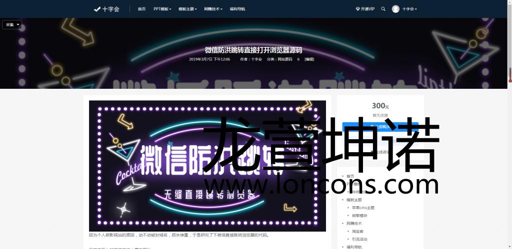 日主题Rizhuti:一个优秀的带会员中心,VIP充值的wordpress模板资源下载主题