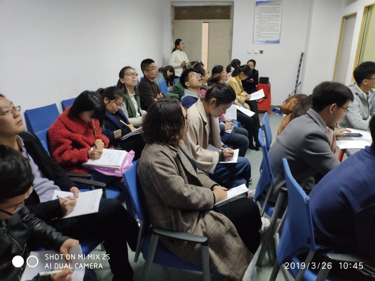 亳州中药科技学校启动推门听课活动 自媒体