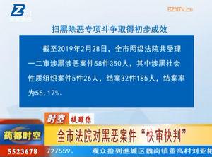 """亳州市法院对黑恶案件""""快审快判"""" 自媒体"""