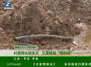 """谯城区张店乡李吉楼村:村里停水很多天 又是修路""""惹的祸"""" 自媒体"""
