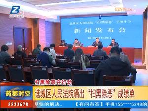 """谯城区人民法院晒出""""扫黑除恶""""成绩单 自媒体"""