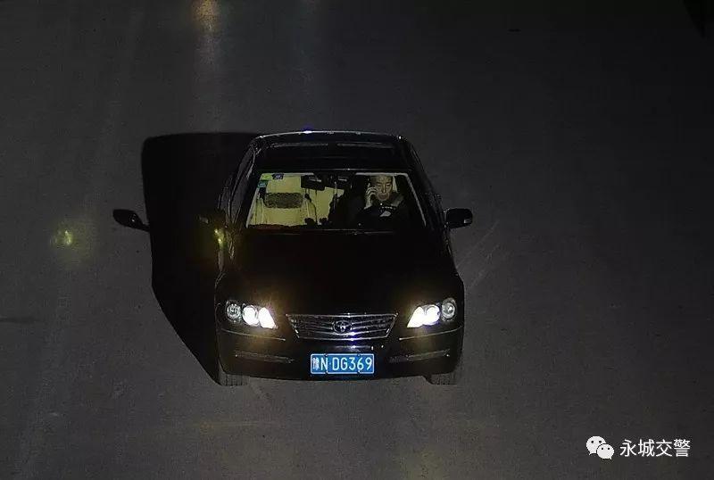 永城这些车主因未礼让行人、开车接打电话、滥用远光灯、-4