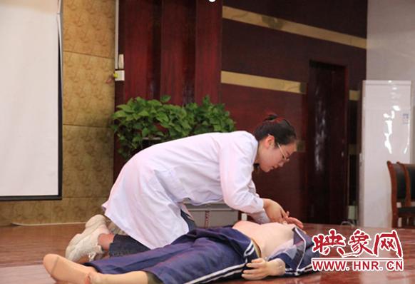 永城市妇幼保健院开展2019年度全员心肺复苏实操考核 自媒体