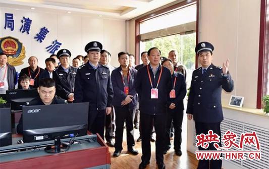 永城市人大常委会视察公安工作