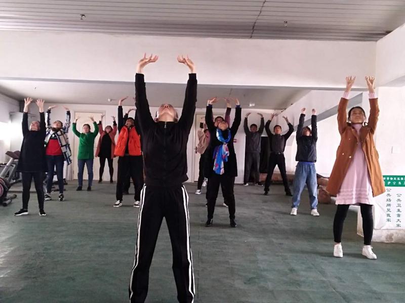亳州市文化旅游体育局组织开展五禽戏工间操活动 自媒体