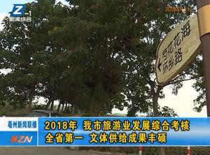 2018年 亳州市旅游业发展综合考核全省第一 文体供给成果丰硕 自媒体