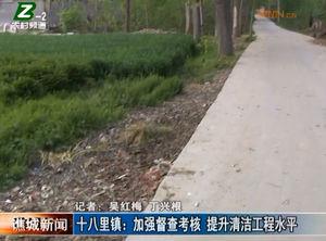 十八里镇:加强督查考核 提升清洁工程水平