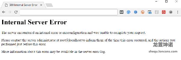wordpress博客系统HTTP500内部服务器错误修复方法