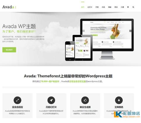 自定义Avada主题顶部字体颜色及字体大小