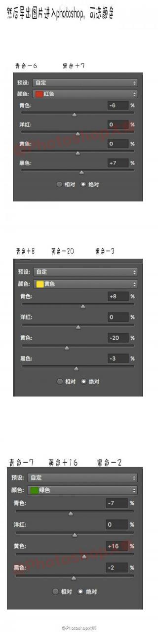 photoshop提亮调色摄影照片 软件教程