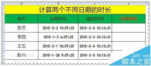 Excel怎么使用text函数计算两个日期相差的时间 软件教程