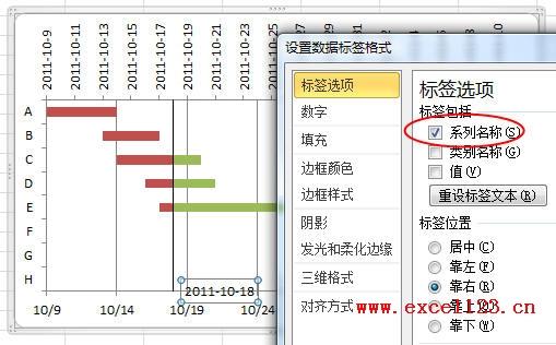 奇妙且实用!在Excel2010中绘制简单的甘特图 软件教程