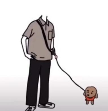 抖音牵狗情侣图片怎么制作  抖音一个人牵狗的素材图片制作方法 软件教程