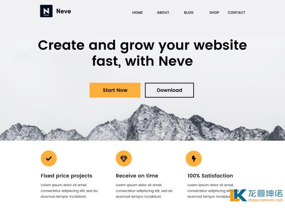 WordPress Neve主题 附Neve Pro Addon v1.2.1插件 激活版 源码插件
