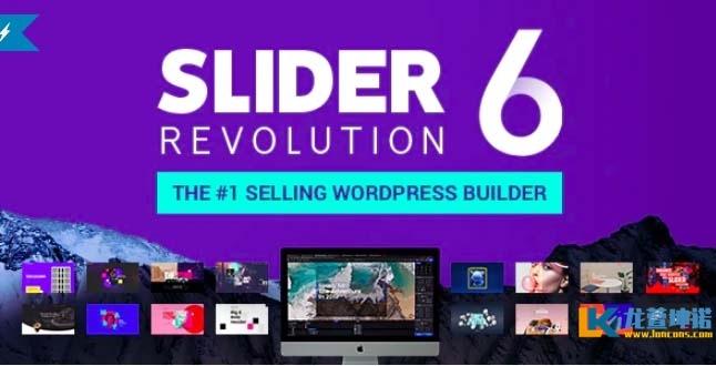 wordpress幻灯片插件 Slider Revolution v6.2.1革命幻灯片汉化版插件 汉化且优化了速度版