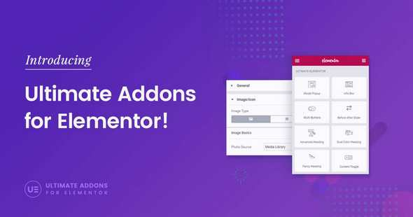 Ultimate Addons for Elementor v1.28.0 – Elementor的终极组件  Elementor小部件库 无限制版
