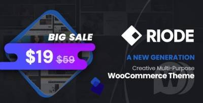 Riode v1.3.10 | Woocommerce多用途主题 wordpress主题
