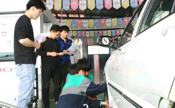 亳州工业学校智能制造部举行汽车专业技能大赛