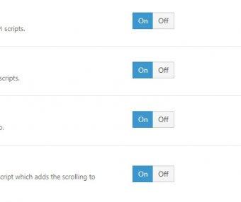 Avada主题优化 禁用无关的API Scripts脚本支持