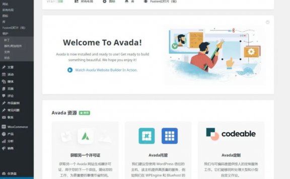 wordpress商业主题 Avada7.0.1主题2020年8月最新版