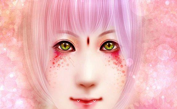 Photoshop将美女图片制作出超详细的彩妆仿手绘教程