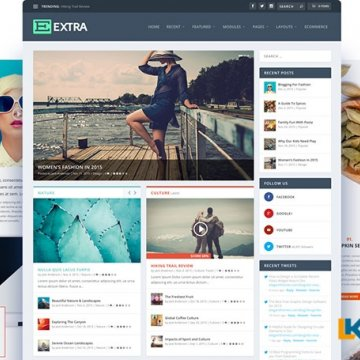Extra Theme v4.7.7 – 终极WordPress杂志主题
