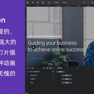 wordpress插件 Slider Revolution V6.3.4 中文汉化版革命幻灯片强大轮播插件