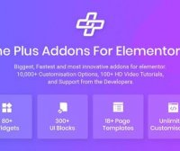 The Plus pro v4.1.9强大扩展元素 – Elementor页面生成器 WordPress插件