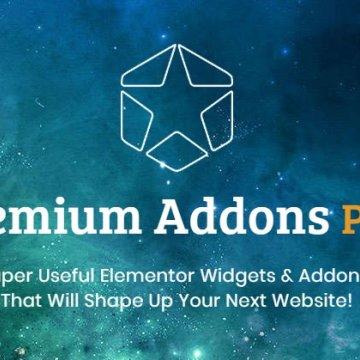 Elementor 高级扩展 Premium Addons PRO  v2.3.0 Wordpress插件
