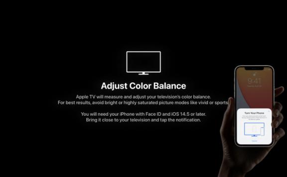 iPhone 是如何配合 Apple TV 实现「校色」的?