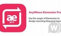 anywhere elementor pro v2.18汉化版 wordpress全局布局编辑插件