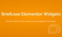 Briefcase Elementor Widgets v2.0.5 汉化版-Elementor的高级附加组件 wordpress插件