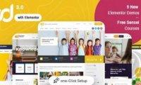 Ed School v3.9.0:WordPress教育主题 学校主题