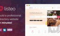listeo v1.6.30 wordpress主题 -带预订的WordPress目录主题