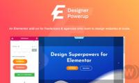 Designer Powerup for Elementor V2.2.3 汉化版 可视化编辑器扩展插件  wordpress插件